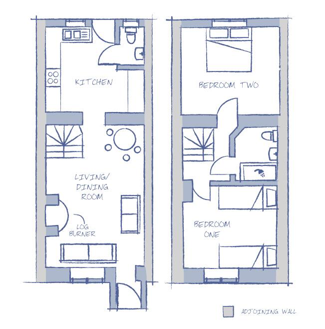 Holiday Cottage Floorplan