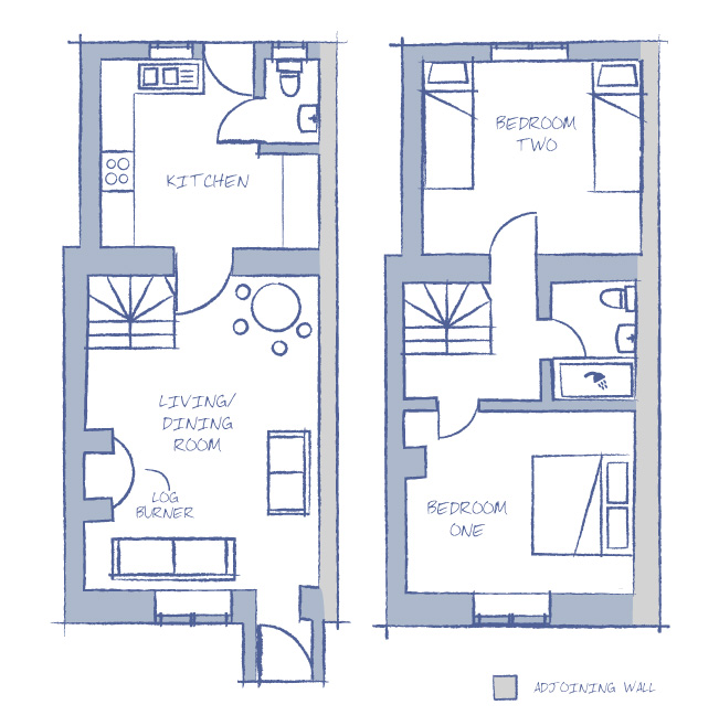 Holiday Cottage Floorplan