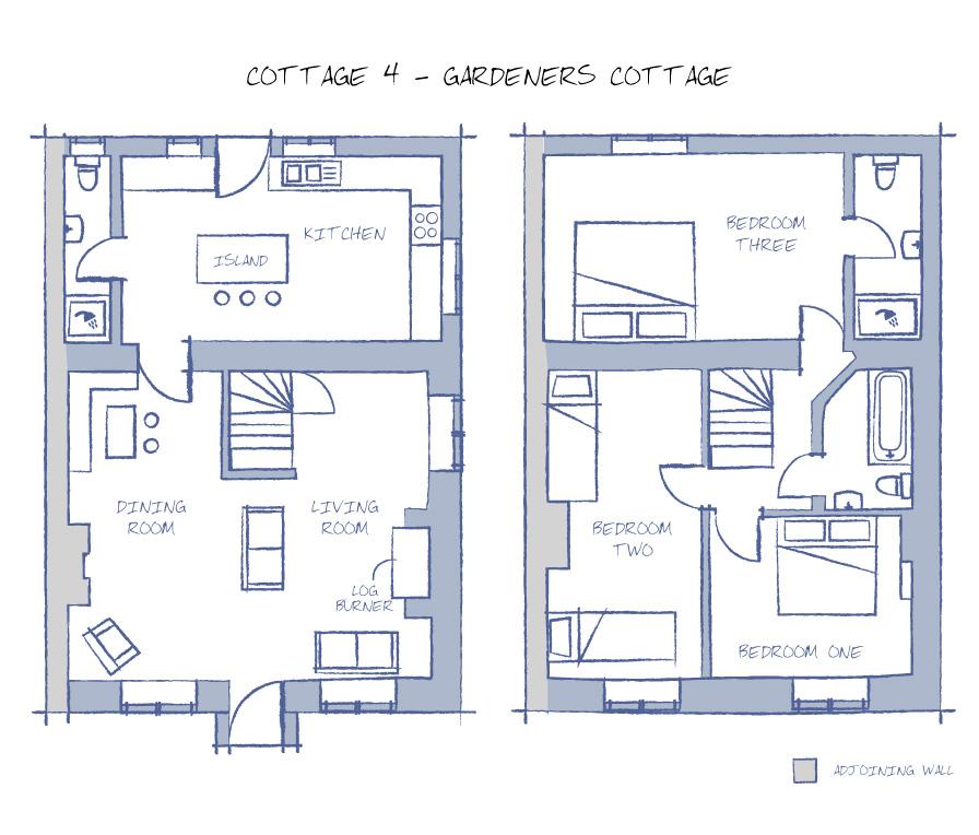 Domineys Yard Cottage Floorplan